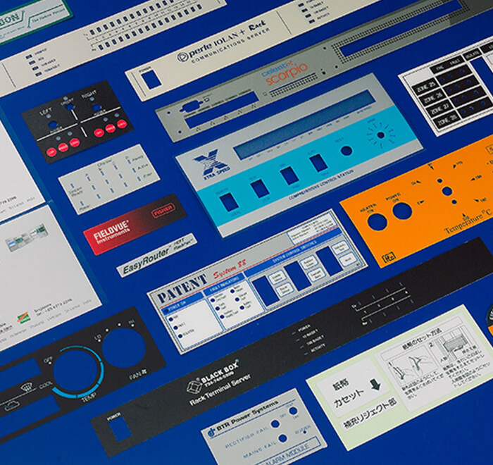 Silk Screen Nameplates & Overlays